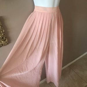 Sheer cover up pants